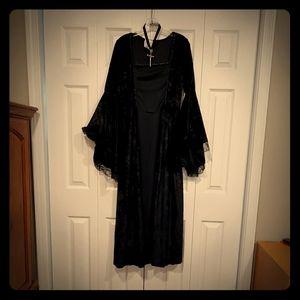 Angel of Darkness Costume - Goth, Vamp, Witch